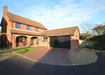 Thumbnail 4 bedroom detached house for sale in Cambridgeshire Close, Wokingham