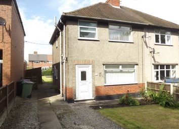 Thumbnail 3 bed semi-detached house to rent in Station New Road, Old Tupton, Chesterfield