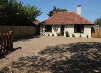Thumbnail 3 bed bungalow for sale in Great Plumstead, Norwich, Norfolk