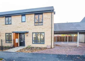 Thumbnail 3 bed end terrace house for sale in Eastfield, Cambridge