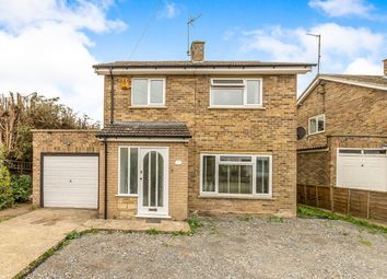 Thumbnail 3 bed detached house for sale in Royston Avenue, Orton Longueville, Peterborough