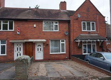 Thumbnail 2 Bed Terraced House For Sale In Longstone Road Great Barr Birmingham