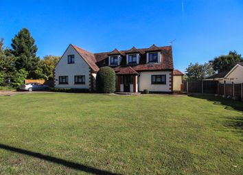 Thumbnail 5 bed detached house for sale in Church Road, Ramsden Bellhouse, Billericay, Essex