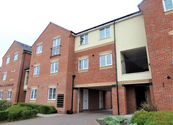 Thumbnail 3 bed flat for sale in Hindley View, Rugeley