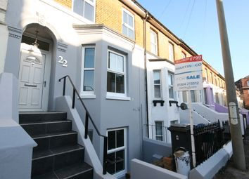Thumbnail 3 bedroom maisonette for sale in Avenue Road, Dover