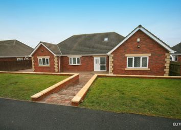 Thumbnail 3 bed detached bungalow to rent in Fellside View, Burnhope, Durham