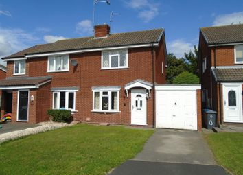 Thumbnail 2 bed semi-detached house for sale in Heron Close, Coven, Wolverhampton
