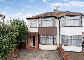 Thumbnail 3 bed semi-detached house for sale in Rayleigh Close, Palmers Green, London