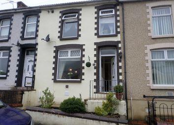 Thumbnail 3 bed terraced house to rent in Oak Terrace, Ogmore Vale, Bridgend, Bridgend.