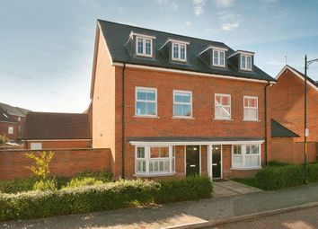 Thumbnail 4 bed semi-detached house for sale in Holly Way, Kings Hill, West Malling
