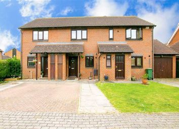 Thumbnail 2 bed terraced house for sale in Hartdames, Shenley Brook End, Milton Keynes
