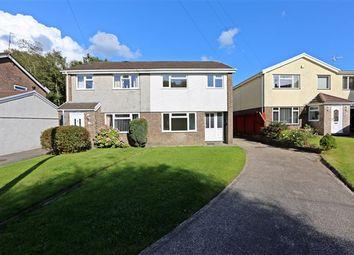 Thumbnail 3 bed semi-detached house to rent in Ffordd Yr Ywen, Tonteg, Cardiff