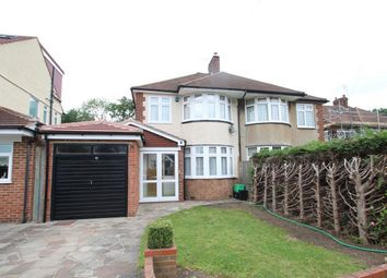 Thumbnail 3 bed semi-detached house to rent in Merton Gardens, Petts Wood, Orpington, Kent