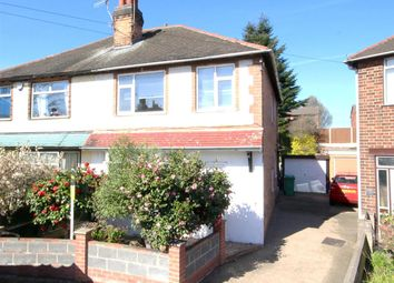 Thumbnail 3 bedroom semi-detached house for sale in Hillcrest Grove, Sherwood, Nottingham