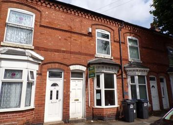 Thumbnail 2 bed terraced house for sale in Madeley Road, Sparkhill, Birmingham, West Midlands