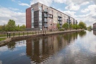 Thumbnail 2 bed flat for sale in Wharfside, Heritage Way, Wigan