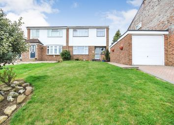 Thumbnail 3 bed semi-detached house for sale in The Crest, Sawbridgeworth