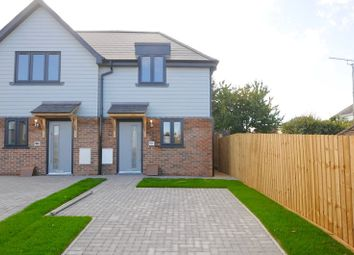 Thumbnail 2 bed semi-detached house for sale in Rossmore Road, Parkstone, Poole