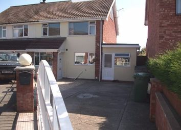 Thumbnail 4 bed semi-detached house to rent in Holmer Manor Close, Holmer, Hereford