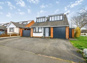 Thumbnail 4 bed bungalow for sale in Redfern Drive, Burntwood, Staffordshire