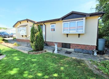 Thumbnail 2 bed mobile/park home for sale in Dengrove Park, Shallaok Road Broad Oak, Canterbury