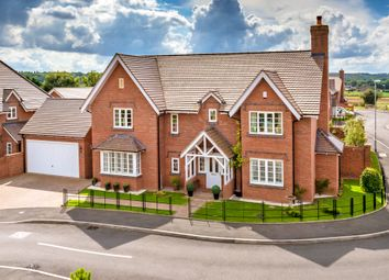 Thumbnail 4 bedroom detached house for sale in Hill Farm Close, Lilleshall, Newport