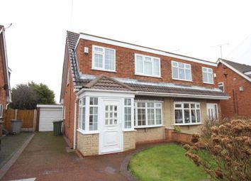 Thumbnail 3 bed semi-detached house for sale in Kingfisher Way, Saughall Massie, Wirral