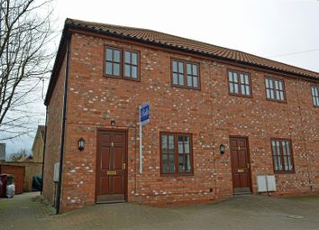 Thumbnail 3 bed end terrace house for sale in Chancery Lane, Crowle, Scunthorpe