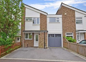 Thumbnail 4 bed terraced house for sale in Keats Road, Larkfield, Aylesford, Kent