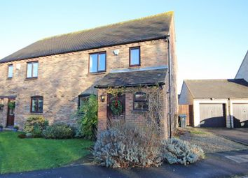 Thumbnail 3 bed semi-detached house for sale in Stanway Close, Witney