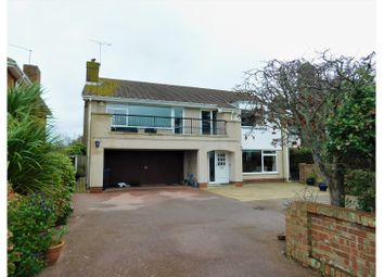 Thumbnail 4 bed detached house for sale in Marine Drive, Worthing