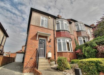 Thumbnail 3 bed semi-detached house for sale in Coleridge Avenue, Low Fell, Gateshead