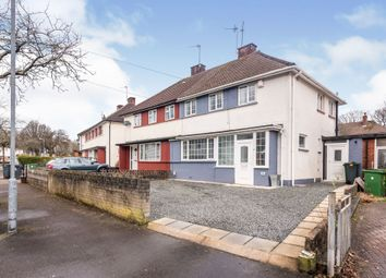 Thumbnail 3 bed semi-detached house for sale in Fishguard Road, Llanishen, Cardiff