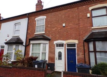 Thumbnail 3 bed terraced house for sale in Kingswood Road, Moseley, Birmingham, West Midlands