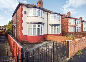 Thumbnail 3 bed semi-detached house for sale in Park Crescent, Darlington