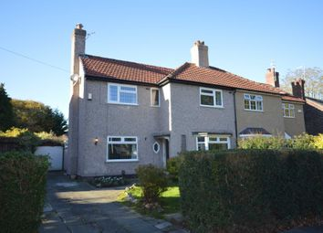 Thumbnail 3 bed semi-detached house for sale in St. Andrews Road, Bebington, Wirral