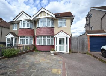 Thumbnail 4 bed semi-detached house for sale in Courtlands Drive, Ewell, Epsom