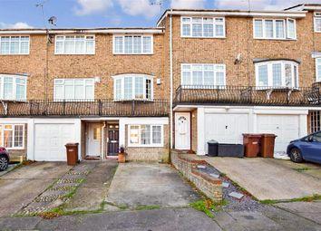Thumbnail 4 bed town house for sale in Wheatcroft Grove, Rainham, Gillingham, Kent