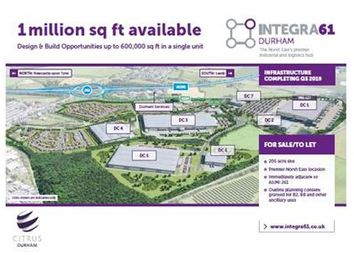 Thumbnail Land to let in Integra 61, Durham Rfi, Durham, County Durham