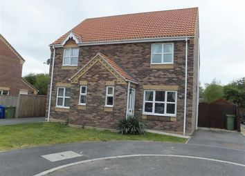 Thumbnail 2 bed semi-detached house to rent in Lancaster Drive, Market Rasen
