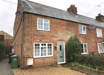 Thumbnail 2 bed end terrace house for sale in Fen Road, Watlington, King's Lynn