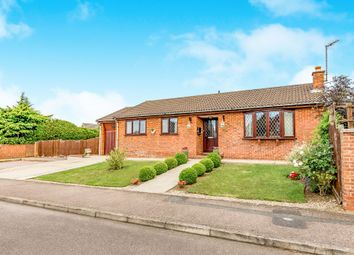 Thumbnail 3 bedroom detached bungalow for sale in Playford Close, Rothwell, Kettering