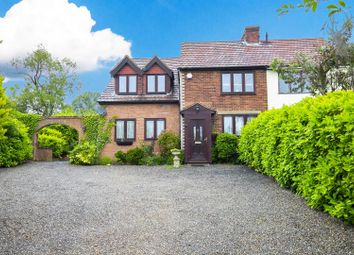 Thumbnail 4 bed semi-detached house for sale in Epping Lane, Stapleford Tawney, Romford, Essex