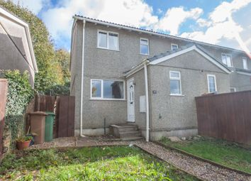 Thumbnail 3 bed end terrace house for sale in Thirlmere Gardens, Crownhill, Plymouth