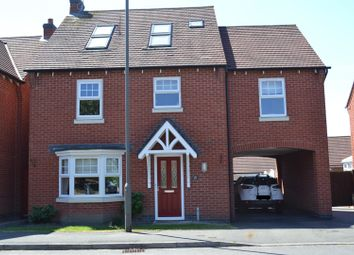 Thumbnail 6 bedroom detached house for sale in Glamorgan Way, Church Gresley, Swadlincote