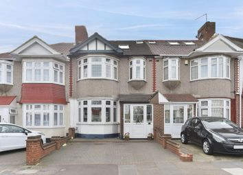 Thumbnail 4 bed terraced house for sale in Hathaway Gardens, Chadwell Heath, Romford