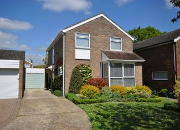 Thumbnail 4 bed detached house for sale in Corby Close, Woodley, Reading