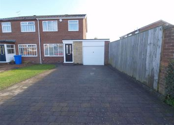 Thumbnail 3 bed semi-detached house for sale in Kendal Drive, Cramlington