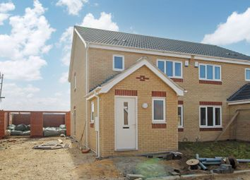 Thumbnail Semi-detached house for sale in Caraway Drive, Bradwell, Great Yarmouth