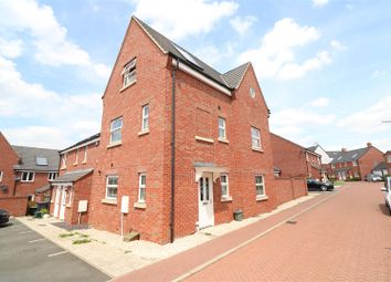 Thumbnail 4 bedroom end terrace house for sale in Tweed Crescent, Rushden